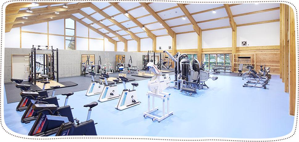 トレーニング棟